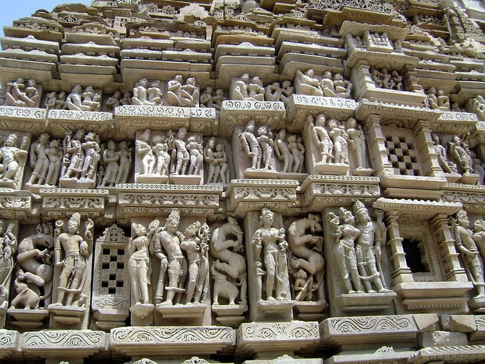 ИНДИЯ: Храмы Кхаджурахо (The Temples of Khajuraho) 96621