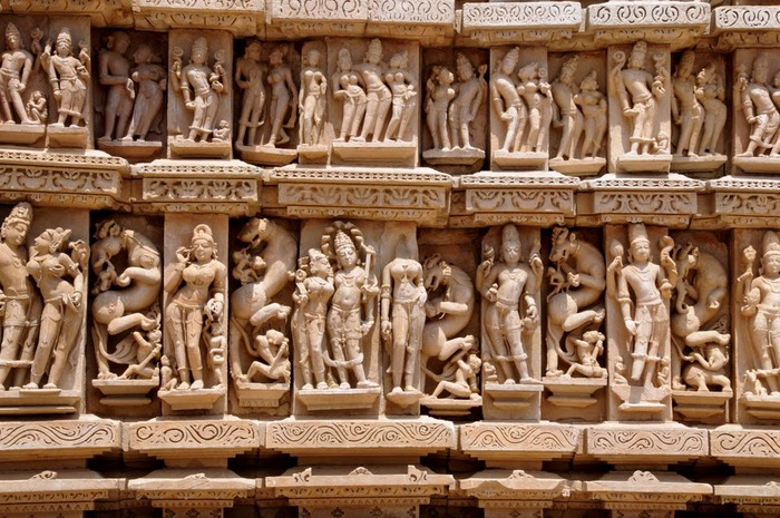 ИНДИЯ: Храмы Кхаджурахо (The Temples of Khajuraho) 92894