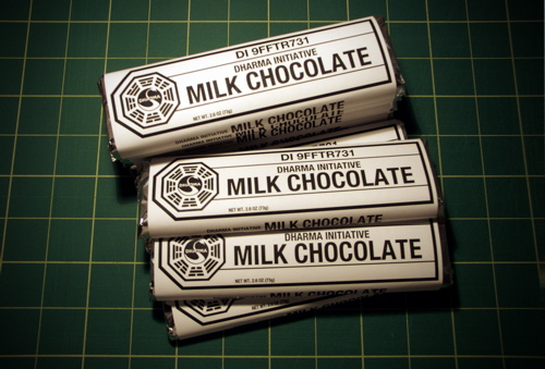 DHARMA Initiative Milk Chocolate Bars