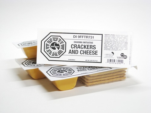 DHARMA Initiative Crackers and Cheese