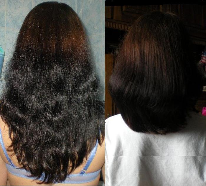 Отрастила волосы после черного