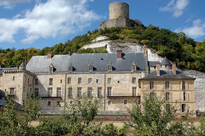 Замок Ла Рош-Гюйон (La Roche-Guyon) 96332