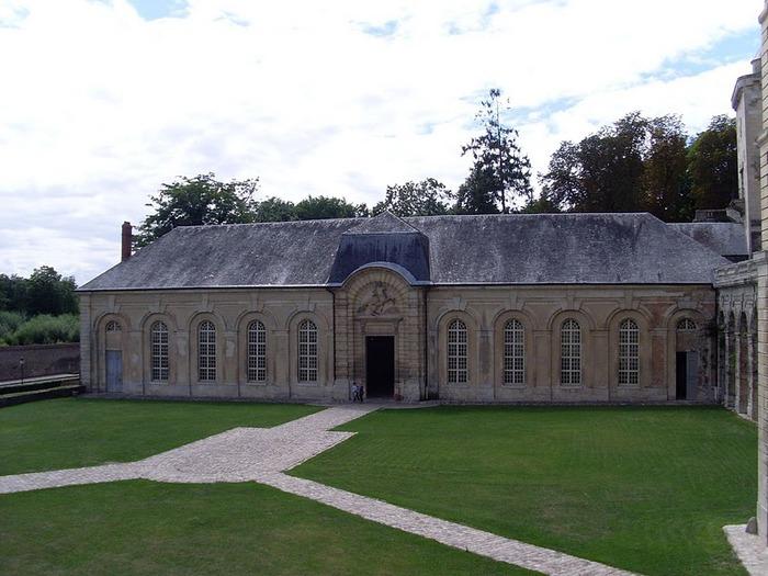 Замок Ла Рош-Гюйон (La Roche-Guyon) 95063