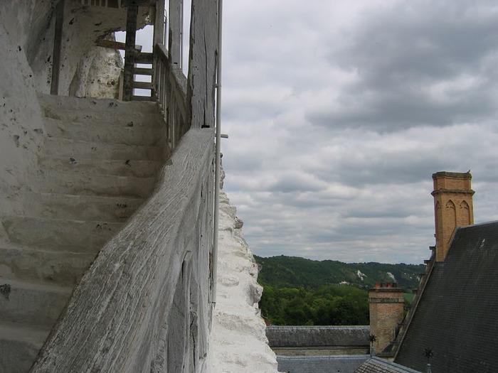 Замок Ла Рош-Гюйон (La Roche-Guyon) 38066