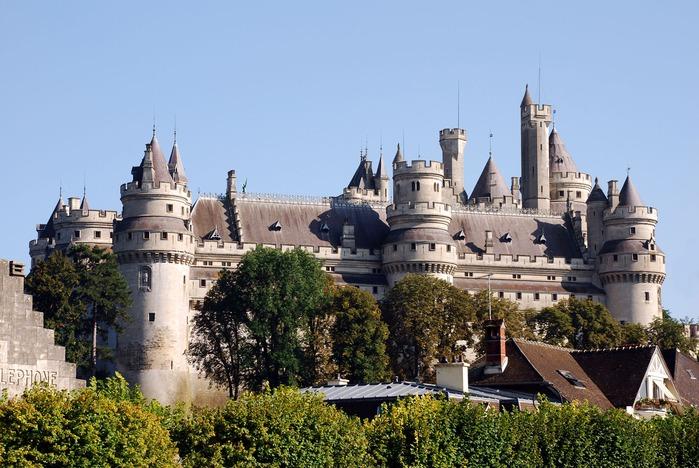 Замок Пьерфон ( фр. Chateau de Pierrefonds ) 57625