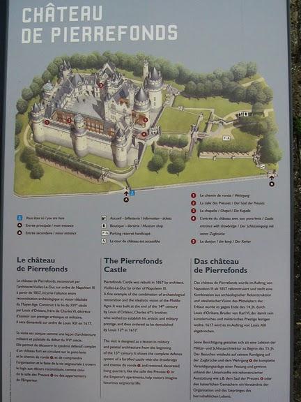 Замок Пьерфон ( фр. Chateau de Pierrefonds ) 78594