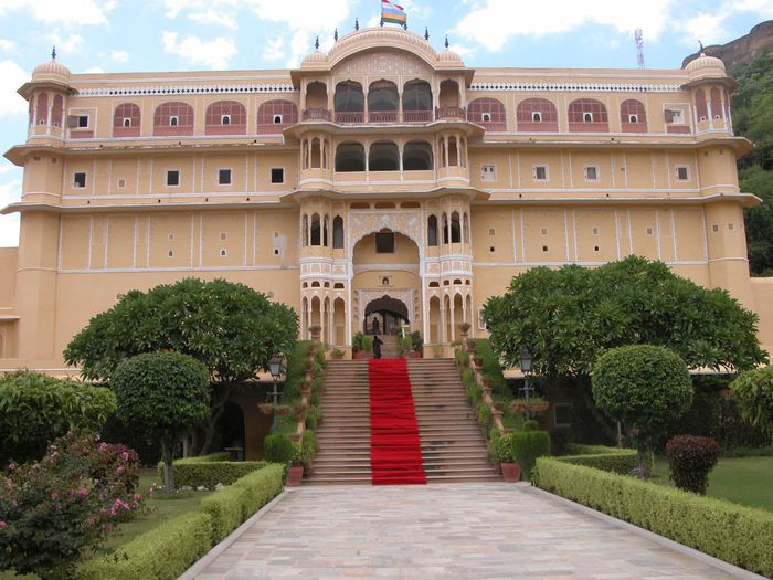 Тадж-Махал в миниатюре - Samode Palace 90085