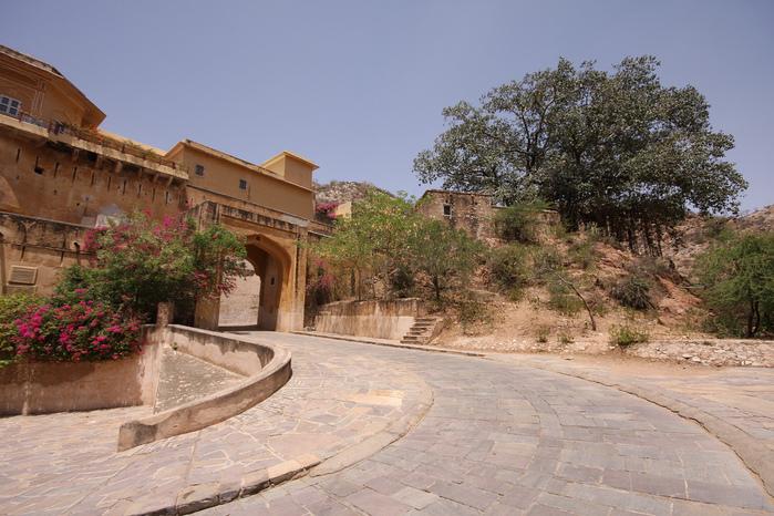 Тадж-Махал в миниатюре - Samode Palace 68956