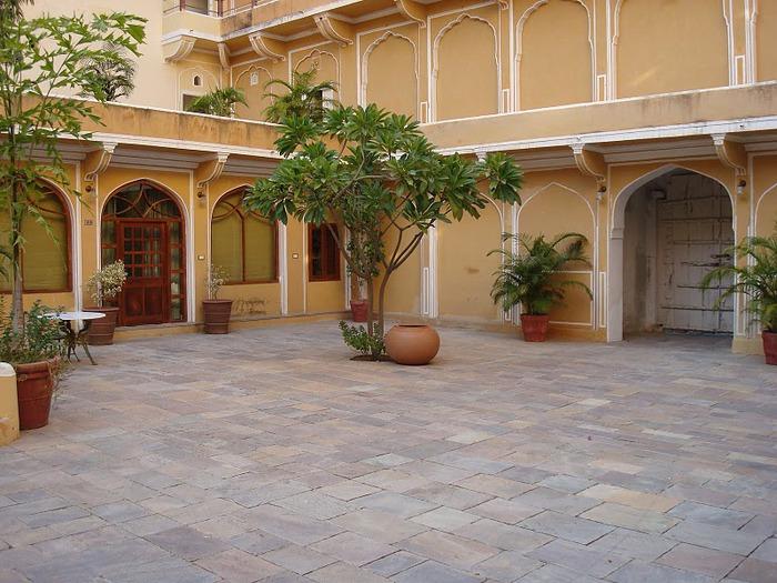 Тадж-Махал в миниатюре - Samode Palace 81690