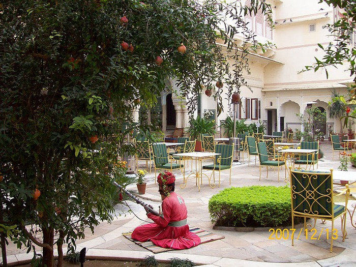 Тадж-Махал в миниатюре - Samode Palace 71194