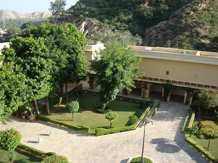 Тадж-Махал в миниатюре - Samode Palace 48676