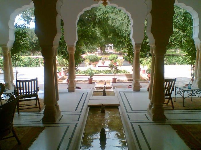 Тадж-Махал в миниатюре - Samode Palace 55980