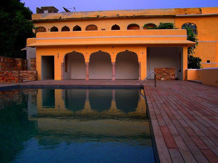 Тадж-Махал в миниатюре - Samode Palace 52769