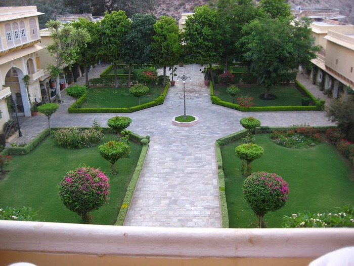 Тадж-Махал в миниатюре - Samode Palace 28251