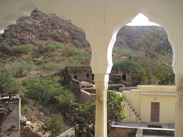 Тадж-Махал в миниатюре - Samode Palace 11970
