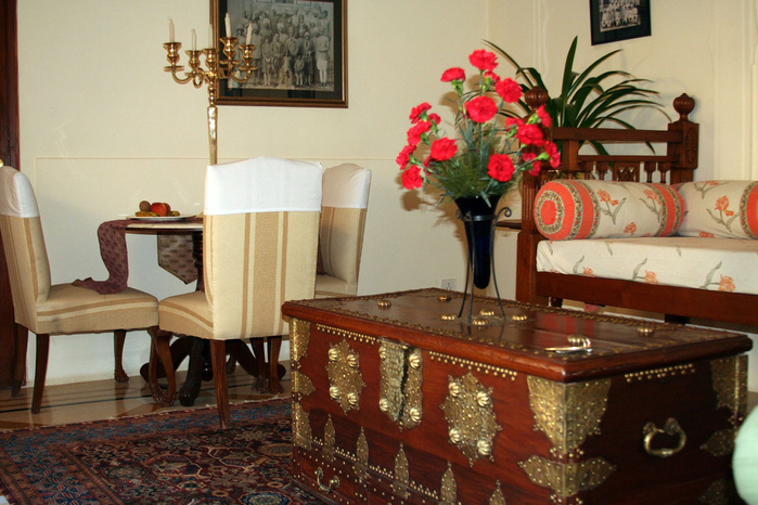 Тадж-Махал в миниатюре - Samode Palace 95581
