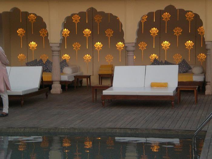 Тадж-Махал в миниатюре - Samode Palace 60863