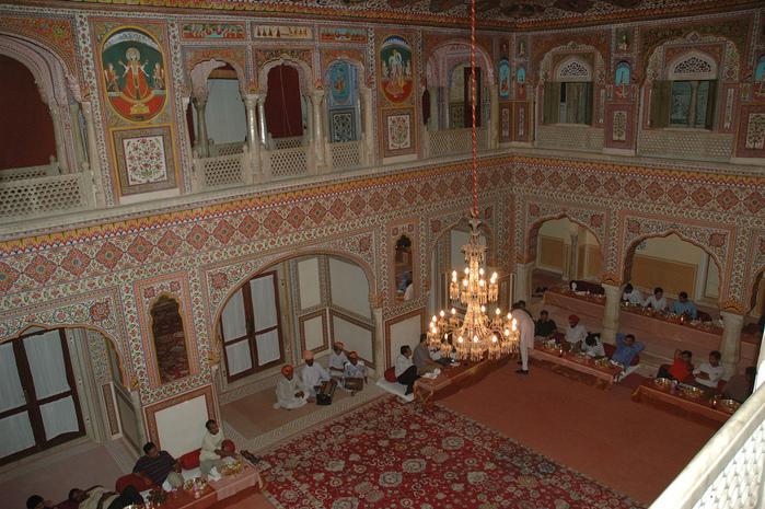 Тадж-Махал в миниатюре - Samode Palace 86171