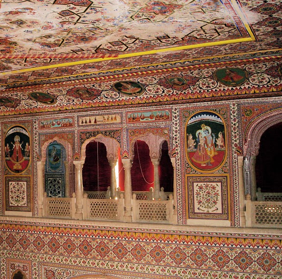 Тадж-Махал в миниатюре - Samode Palace 35134
