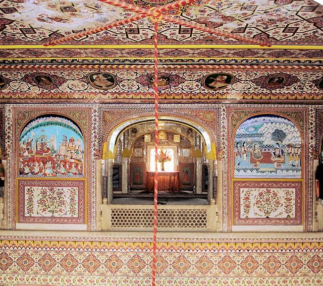 Тадж-Махал в миниатюре - Samode Palace 52924