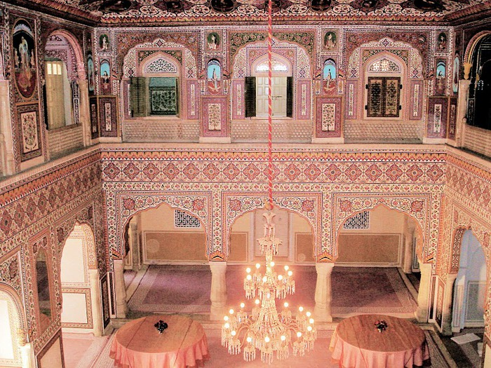 Тадж-Махал в миниатюре - Samode Palace 75035