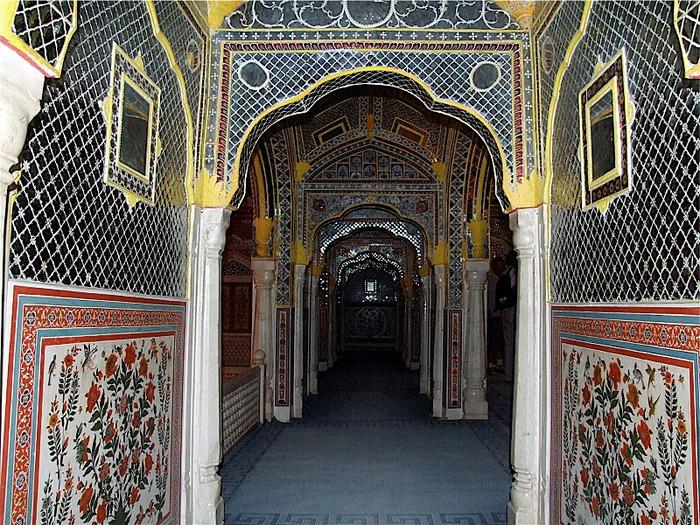 Тадж-Махал в миниатюре - Samode Palace 31164