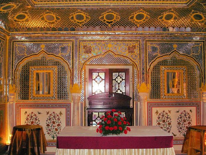 Тадж-Махал в миниатюре - Samode Palace 36539