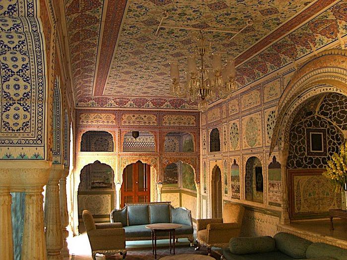 Тадж-Махал в миниатюре - Samode Palace 41198