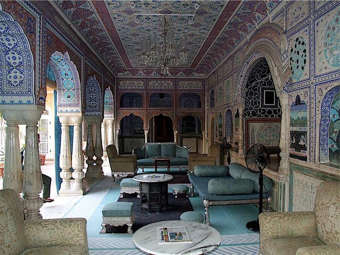 Тадж-Махал в миниатюре - Samode Palace 36241