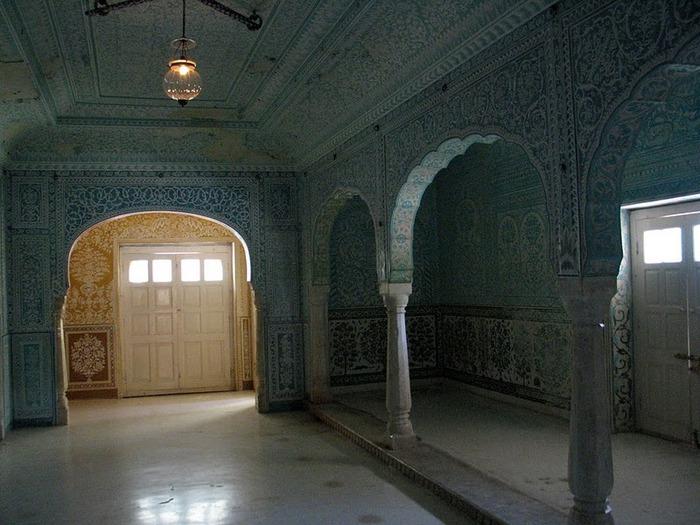Тадж-Махал в миниатюре - Samode Palace 82578