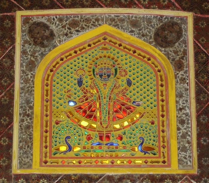 Тадж-Махал в миниатюре - Samode Palace 43771