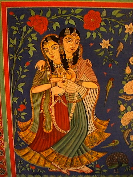 Тадж-Махал в миниатюре - Samode Palace 32083
