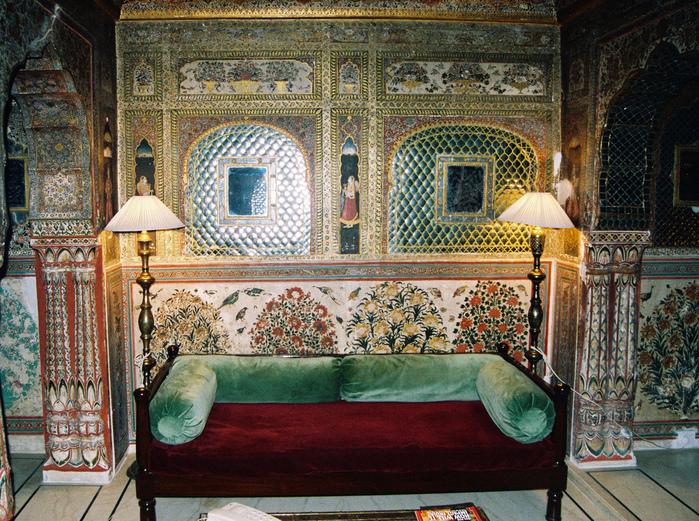 Тадж-Махал в миниатюре - Samode Palace 54100