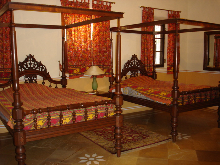 Тадж-Махал в миниатюре - Samode Palace 70657
