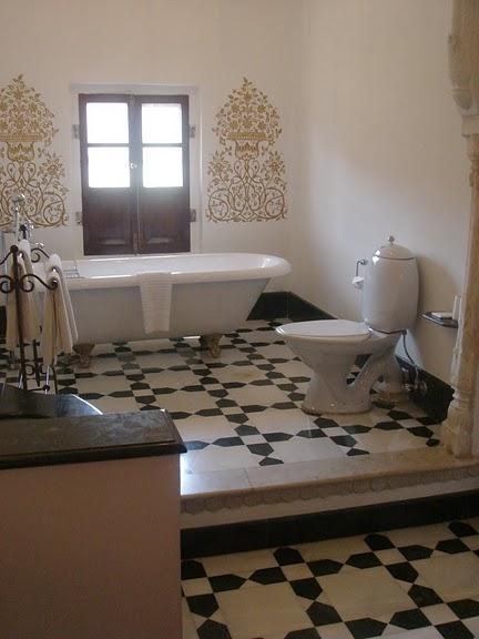 Тадж-Махал в миниатюре - Samode Palace 77277