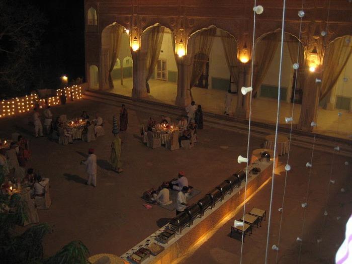 Тадж-Махал в миниатюре - Samode Palace 68362