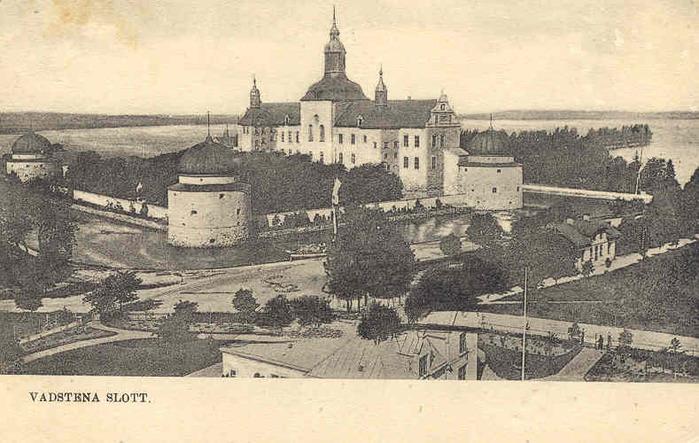 Замок Вадстена (Vadstena) и монастырь Святой Биргитты 97752