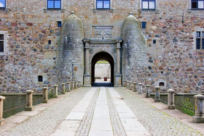 Замок Вадстена (Vadstena) и монастырь Святой Биргитты 23807