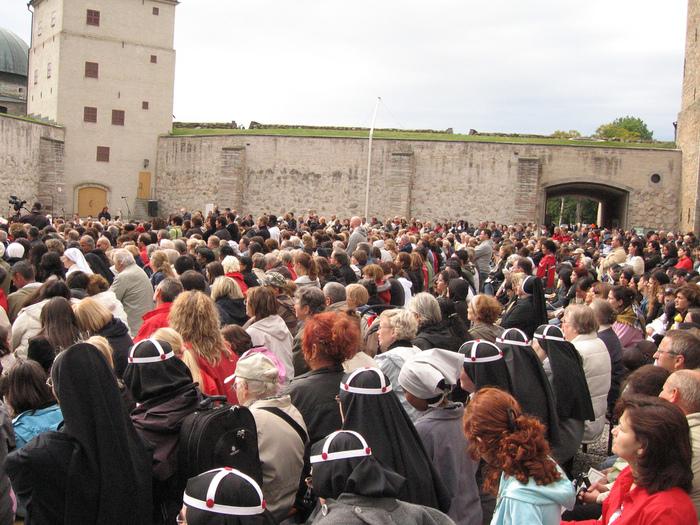Замок Вадстена (Vadstena) и монастырь Святой Биргитты 53541