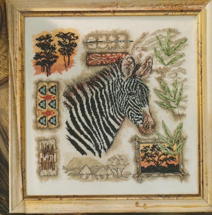Африканская серия - Зебра