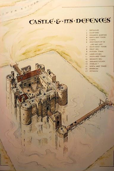 Замок Бодиам (Bodiam) - Графство Сассекс 50479