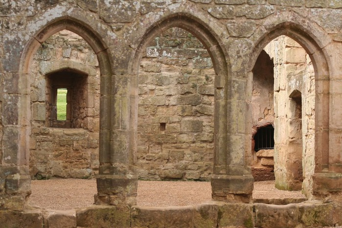 Замок Бодиам (Bodiam) - Графство Сассекс 12627