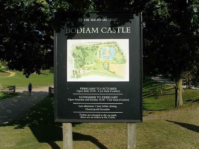 Замок Бодиам (Bodiam) - Графство Сассекс 65671