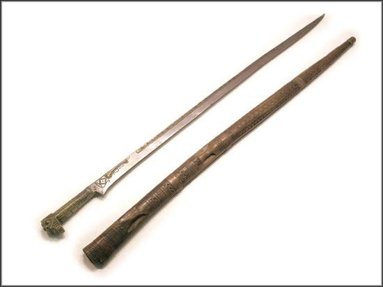 Однолезвийный меч.