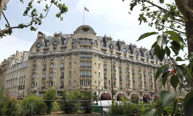 Столетие Lutetia Hotel в Париже, 18 июня 2010 года.