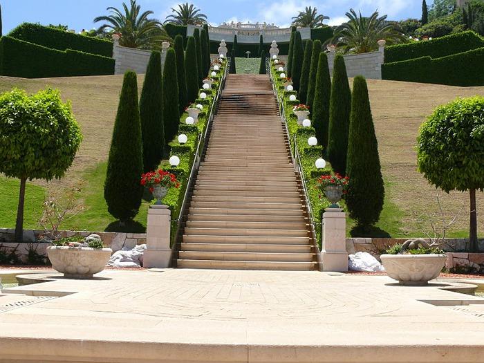 Хайфа, Бахайские сады 63279
