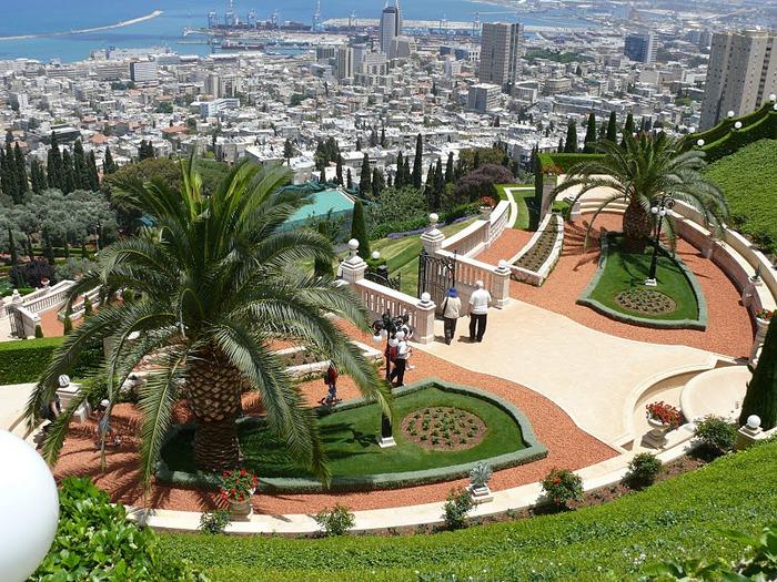 Хайфа, Бахайские сады 47955