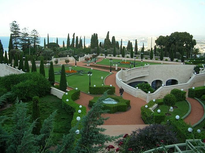 Хайфа, Бахайские сады 27569
