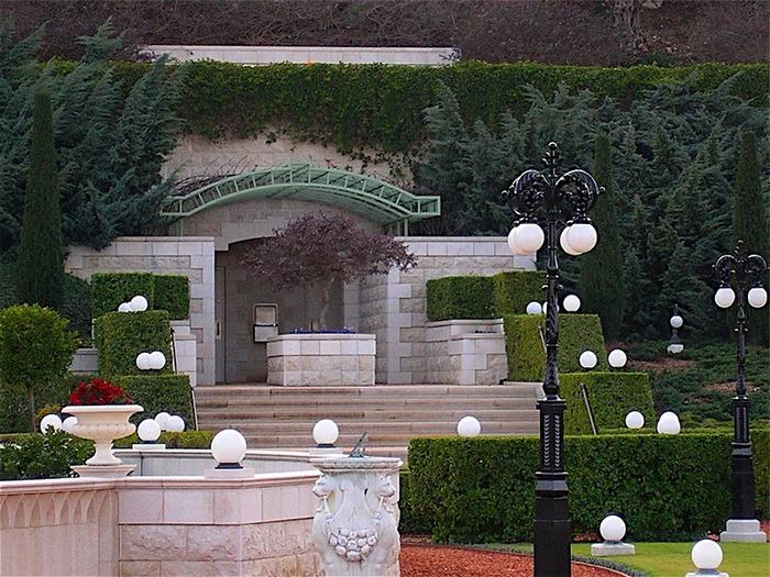 Хайфа, Бахайские сады 15392