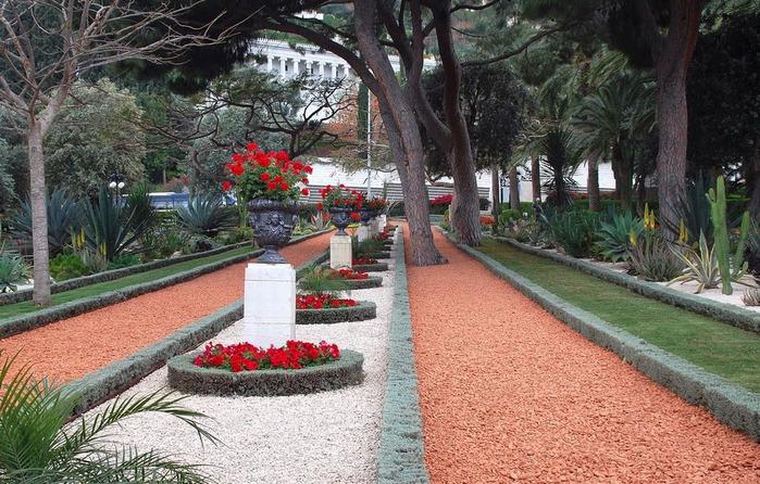 Хайфа, Бахайские сады 89062
